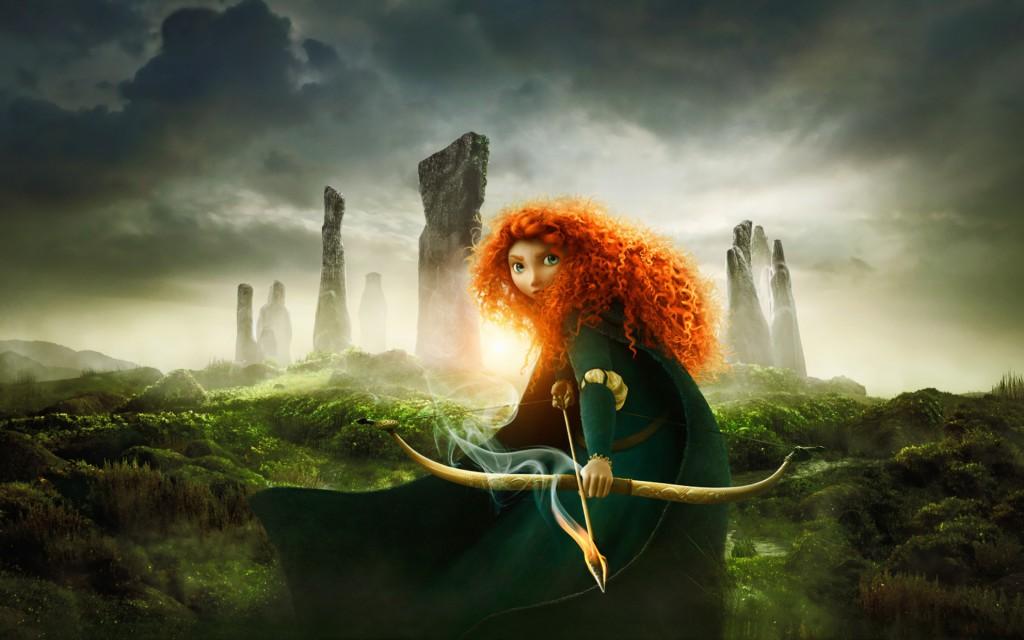 Animovaný 3D film Brave (Rebelka) 2012