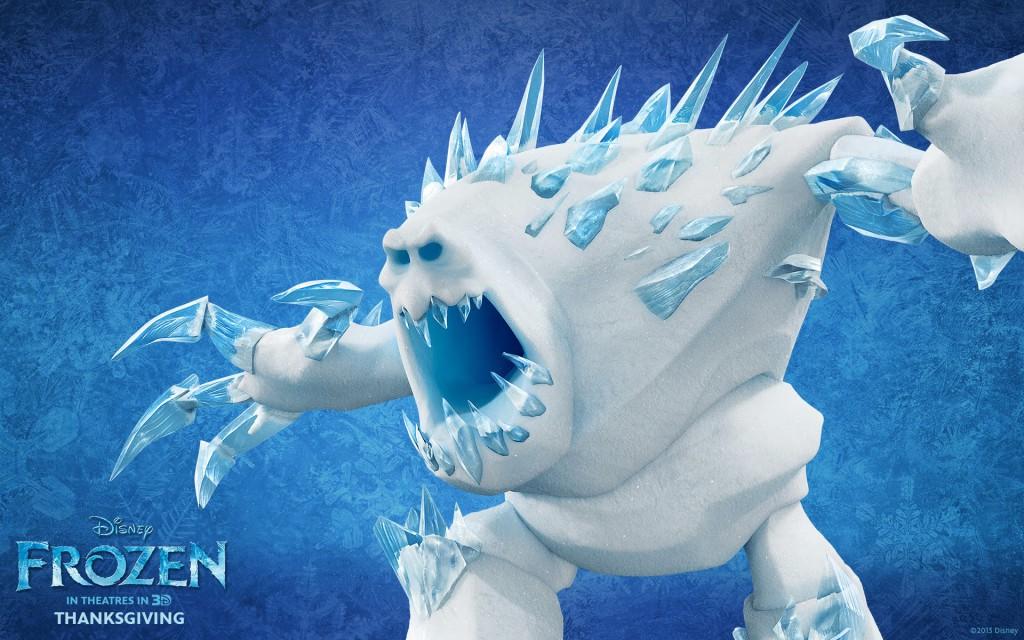 Animovaný 3D film Frozen