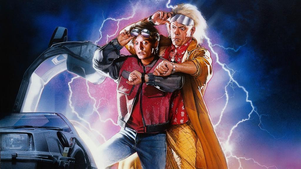 Filmová scifi komedie Návrat Do Budoucnosti 2