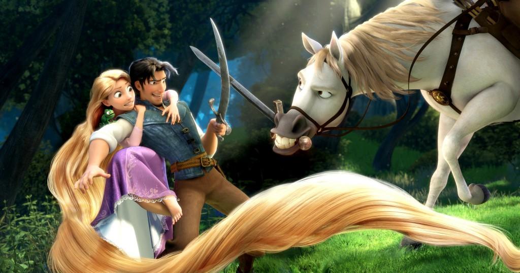 Na vlásku (Tangled 2010) je povedený animovaný 3D film