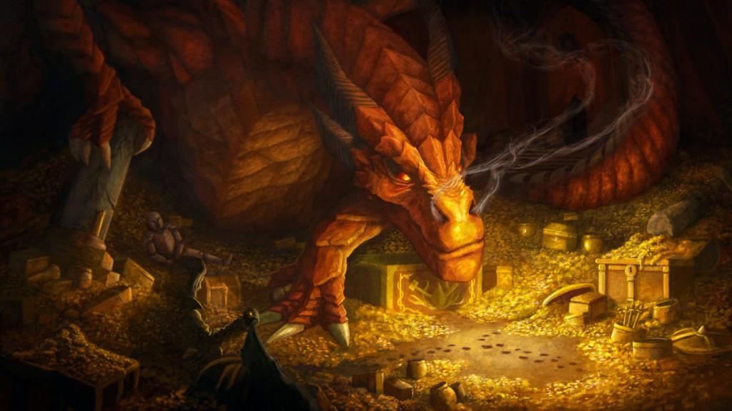 hobbit desolation of smaug šmakova dračí poušť