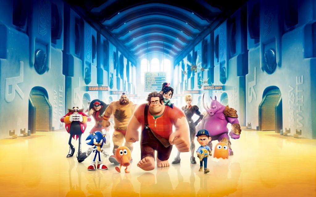 wreck it ralph animovaný 3d film raubíř ralph